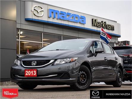 2013 Honda Civic LX (Stk: H200391A) in Markham - Image 1 of 25