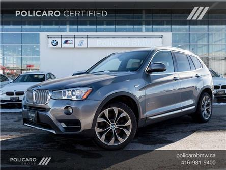 2017 BMW X3 xDrive28i (Stk: D96571P) in Brampton - Image 1 of 21
