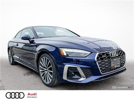 2021 Audi A5 2.0T Technik (Stk: 21058) in Windsor - Image 1 of 30