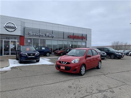 2016 Nissan Micra SV (Stk: P2115A) in Smiths Falls - Image 1 of 14