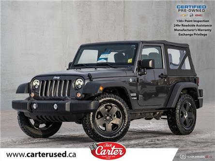 2018 Jeep Wrangler JK Sport (Stk: 900435L) in Calgary - Image 1 of 27