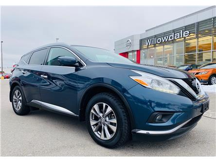 2016 Nissan Murano SL (Stk: N1312A) in Thornhill - Image 1 of 19