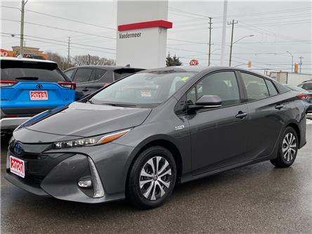 2020 Toyota Prius Prime Upgrade (Stk: TX096A) in Cobourg - Image 1 of 27