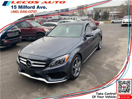 2016 Mercedes-Benz C-Class Base (Stk: 122961) in Toronto - Image 1 of 12