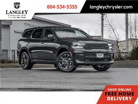 2021 Dodge Durango SXT (Stk: M545224) in Surrey - Image 1 of 23