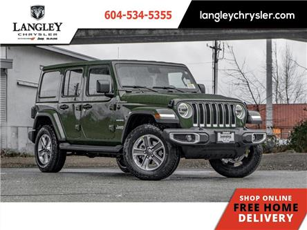 2021 Jeep Wrangler Unlimited Sahara (Stk: M517606) in Surrey - Image 1 of 21