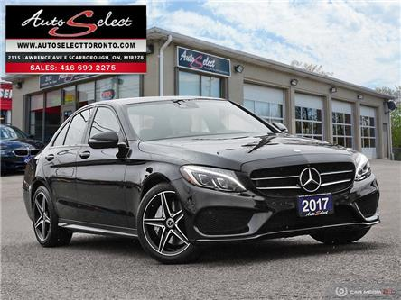 2017 Mercedes-Benz C-Class AWD (Stk: 1MC37X7) in Scarborough - Image 1 of 28