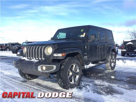 2021 Jeep Wrangler Unlimited Sahara (Stk: M00160) in Kanata - Image 1 of 23