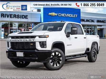 2021 Chevrolet Silverado 2500HD Custom (Stk: 21-130) in Brockville - Image 1 of 23