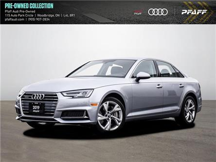2019 Audi A4 45 Progressiv (Stk: C8004) in Woodbridge - Image 1 of 21