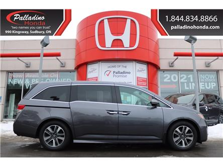 2015 Honda Odyssey Touring (Stk: 22756A) in Greater Sudbury - Image 1 of 12