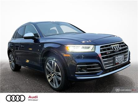 2018 Audi SQ5 3.0T Technik (Stk: 20586) in Windsor - Image 1 of 30