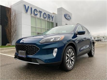 2020 Ford Escape Titanium Hybrid (Stk: V10458CAP) in Chatham - Image 1 of 27