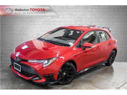 2021 Toyota Corolla Hatchback Base (Stk: 21108) in Walkerton - Image 1 of 18