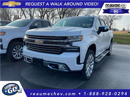 2021 Chevrolet Silverado 1500 High Country (Stk: 21-0299) in LaSalle - Image 1 of 7
