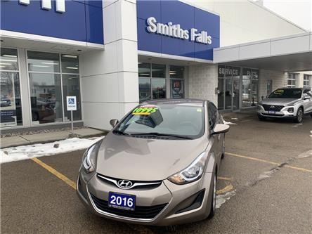 2016 Hyundai Elantra GL (Stk: T13471) in Smiths Falls - Image 1 of 7