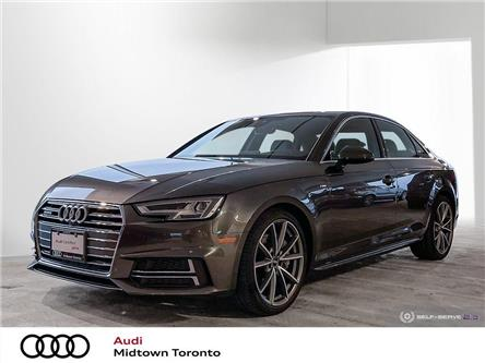2017 Audi A4 2.0T Technik (Stk: P8676) in Toronto - Image 1 of 25