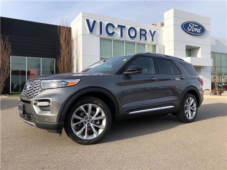 2021 Ford Explorer Platinum (Stk: VEX19951) in Chatham - Image 1 of 15