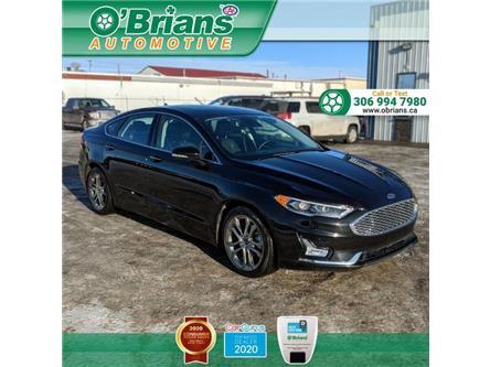2020 Ford Fusion Hybrid Titanium (Stk: 14103A) in Saskatoon - Image 1 of 23