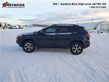 2017 Jeep Cherokee Trailhawk (Stk: ST233A) in  - Image 1 of 7