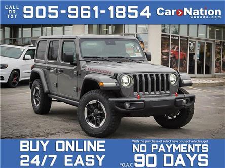 2021 Jeep Wrangler Rubicon Unlimited 4x4| BRAND NEW| LEATHER| NAVI| (Stk: NOU-M159) in Burlington - Image 1 of 23