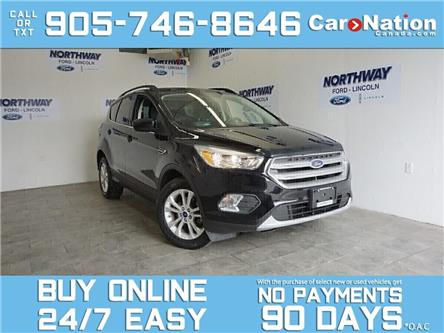 2018 Ford Escape SE | NAV  | REAR CAM | TOUCHSCREEN | 1 OWNER (Stk: OEX3119A) in Brantford - Image 1 of 28