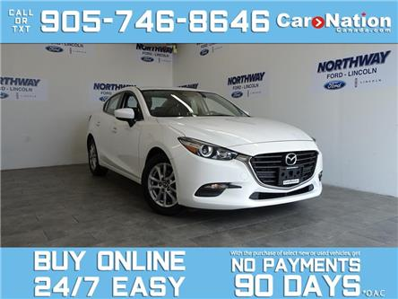 2017 Mazda Mazda3 GS | NAV | REAR CAM | TOUCHSCREEN | NEW CAR TRADE (Stk: P5891) in Brantford - Image 1 of 23
