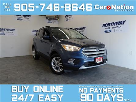 2018 Ford Escape SE | REAR CAM | BLUETOOTH | HEATED SEATS (Stk: OEC1166A-1) in Brantford - Image 1 of 28