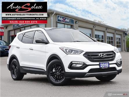 2018 Hyundai Santa Fe Sport 2.4 Premium (Stk: 1HTFX12) in Scarborough - Image 1 of 27