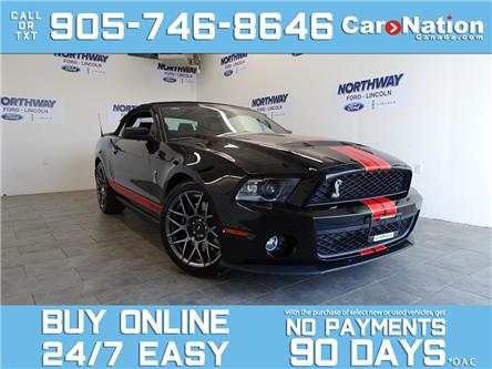2011 Ford Mustang SHELBY GT500 | CONVERTIBLE | NAV | ONLY 34 KM! (Stk: OLV9973A) in Brantford - Image 1 of 22