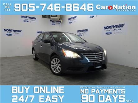 2013 Nissan Sentra BLUETOOTH | OPEN SUNDAYS | AUTO | LOW KMS! (Stk: P5306A) in Brantford - Image 1 of 24