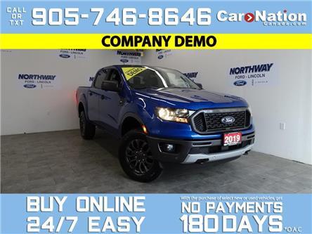 2019 Ford Ranger XLT | 4X4 | SUPERCREW | 302A |SPORT APPEARANCE PKG (Stk: P6077) in Brantford - Image 1 of 26