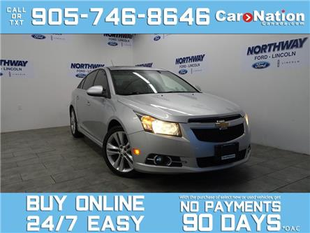 2012 Chevrolet Cruze LT | RS PACKAGE  | SUNROOF | BLUETOOTH | ALLOYS (Stk: P6008A) in Brantford - Image 1 of 24