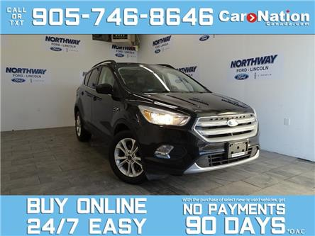 2018 Ford Escape SE | HEATED SEATS | BLUETOOTH | REAR CAM (Stk: OEX1199A) in Brantford - Image 1 of 24