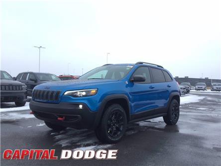 2021 Jeep Cherokee Trailhawk (Stk: M00182) in Kanata - Image 1 of 27