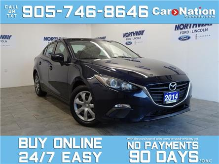 2014 Mazda Mazda3 AUTO | BLUETOOTH | A/C | OPEN SUNDAYS! (Stk: P5853A) in Brantford - Image 1 of 21