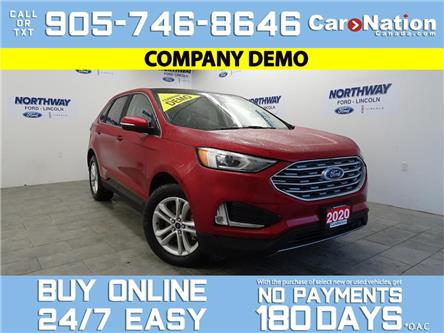 2020 Ford Edge SEL | AWD | PANO ROOF | LEATHER | NAV (Stk: C119) in Brantford - Image 1 of 25