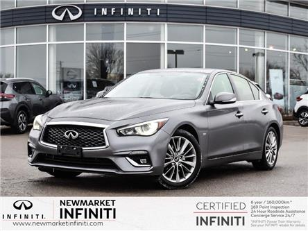 2018 Infiniti Q50 3.0t LUXE (Stk: UI1458) in Newmarket - Image 1 of 22
