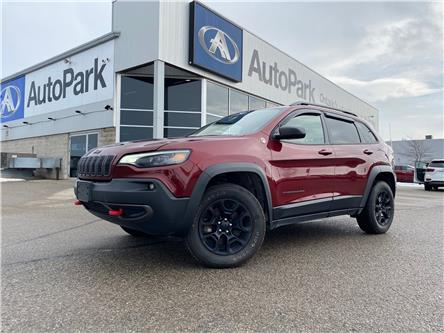2019 Jeep Cherokee Trailhawk (Stk: 19-18327JB) in Barrie - Image 1 of 23