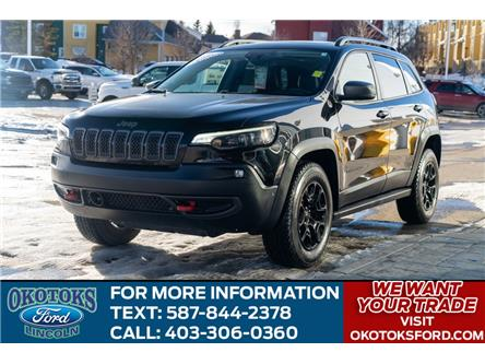 2019 Jeep Cherokee Trailhawk (Stk: B84069) in Okotoks - Image 1 of 26