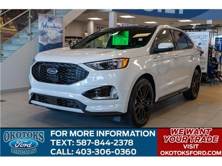 2020 Ford Edge ST Line (Stk: LK-326) in Okotoks - Image 1 of 6