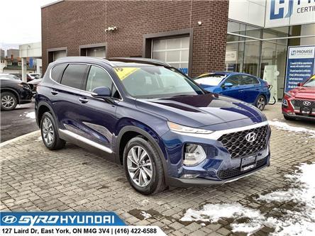 2019 Hyundai Santa Fe Luxury (Stk: H6300A) in Toronto - Image 1 of 30