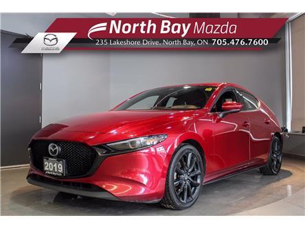 2019 Mazda Mazda3 Sport GT (Stk: 21107A) in North Bay - Image 1 of 24