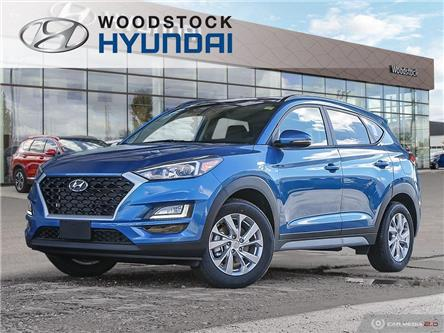 2021 Hyundai Tucson Preferred w/Sun & Leather Package (Stk: TN21000) in Woodstock - Image 1 of 27