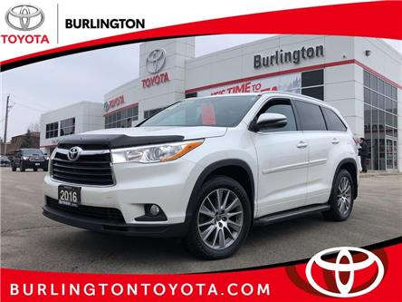 2016 Toyota Highlander XLE (Stk: U10969) in Burlington - Image 1 of 21