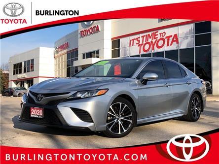 2020 Toyota Camry SE (Stk: U11376) in Burlington - Image 1 of 17
