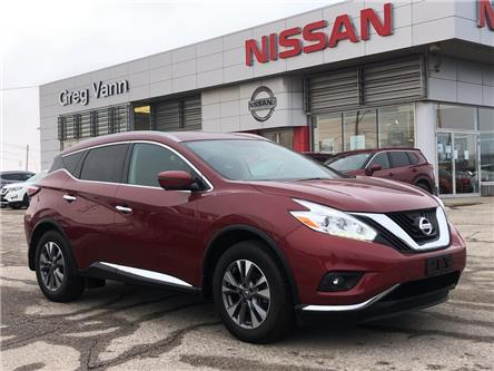 2017 Nissan Murano Platinum (Stk: P2773) in Cambridge - Image 1 of 30