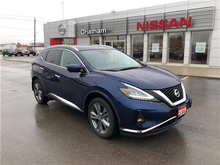 2019 Nissan Murano Platinum (Stk: 2158A) in Chatham - Image 1 of 20