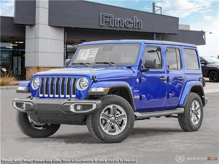2021 Jeep Wrangler Unlimited Sahara (Stk: 100588) in London - Image 1 of 24