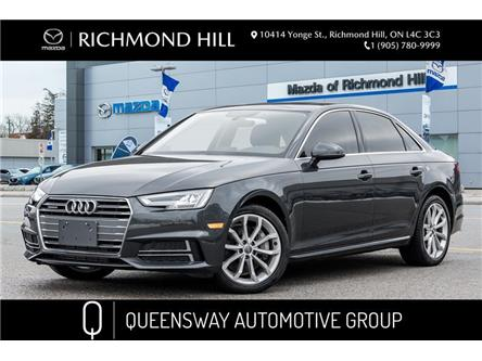 2018 Audi A4 2.0T Progressiv (Stk: 21-198A) in Richmond Hill - Image 1 of 21